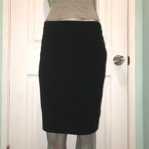 INC black pencil skirt